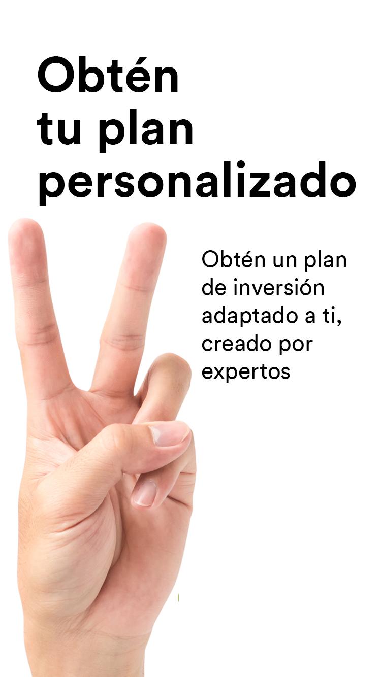 2.obtén tu plan personalizado